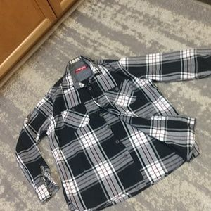 Men's cut Wrangler be Med.Flannel shirt,euc
